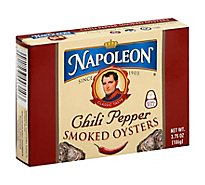 Napoleon Oyster Smkd Chili Pepper - 3.75 Oz