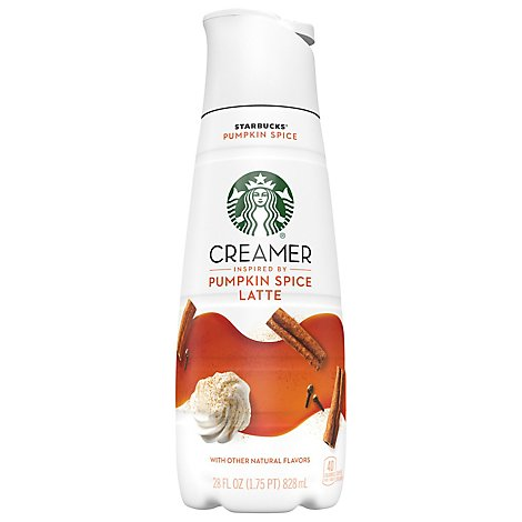 Starbucks Coffee Creamer Liquid Pumpkin Spice Latte - 28 Fl. Oz.