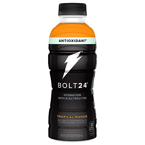 Gatorade Bolt 24 Hydration Beverage Tropical Mango - 16.9 Fl. Oz.