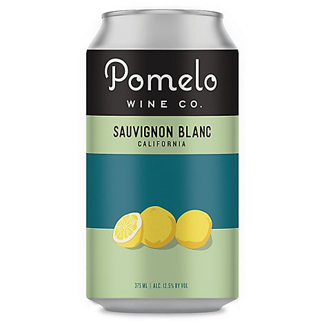 Pomelo Sauv Blanc Can Wine - 375 Ml