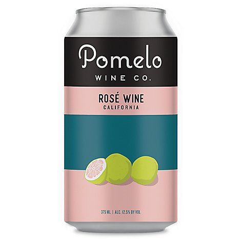 Pomelo Rose Can Wine - 375 Ml
