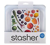 Stasher Bag Sndwch Clr Reusable - 1 Each