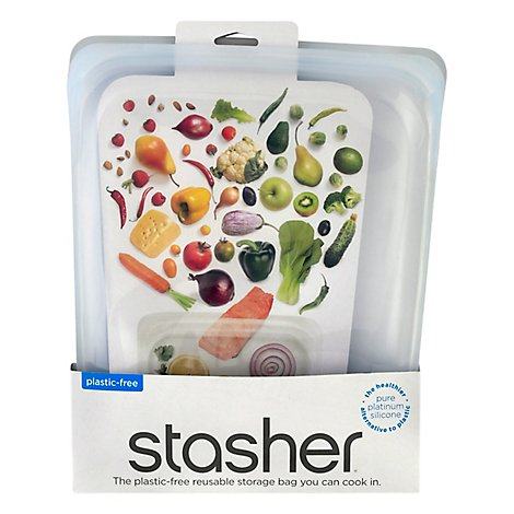 Stasher Bag Gal Hlf Clr Reusable - 1 Each