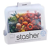 Stasher Bag Stand Up Clr Reusable - 1 Each