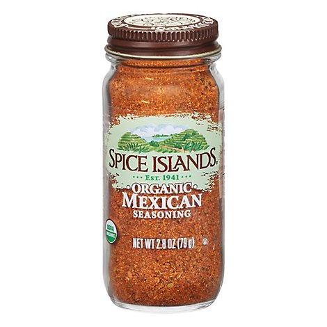 Spice Islands Organic Mexican Seasoning - 2.8 Oz