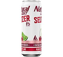 Natural Light Seltzer Catalina Lime Can - 25 Fl. Oz.