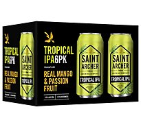 Saint Archer Tropical Ipa In Cans - 6-12 Fl. Oz.