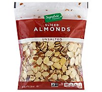 Signature Farms Almonds Sliced Unsalted - 10 Oz