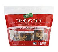Signature Farms Medley Mix Cranberry Orchard Nut Multipack - 8-1 Oz