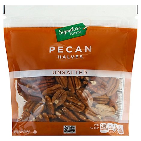 Signature Farms Pecan Pieces - 12 Oz