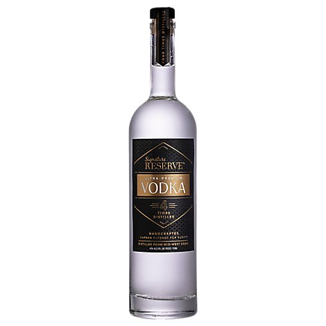 Signature Reserve Vodka - 750 Ml