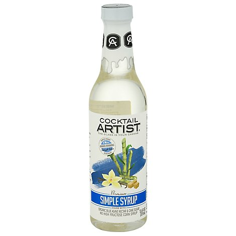 Cocktail Artist Mixer Simple Syrup - 12.6 Fl. Oz.
