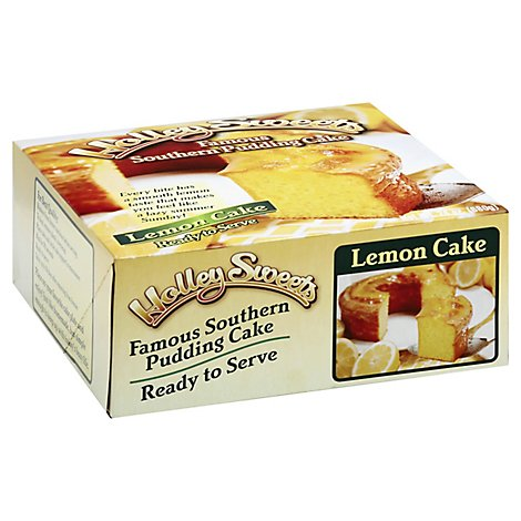 Holley Sweets Cake Lemon Pudding - 24 Oz
