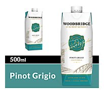 Woodbridge by Robert Mondavi Wine Pinot Grigio White Box - 500 Ml