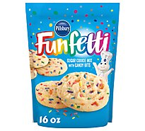 Pillsbury Funfetti Cookie Mix With Candy Bits Sugar - 16 Oz