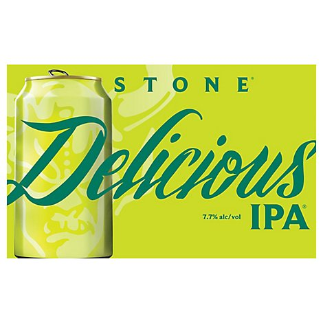 Stone Delicious Ipa In Cans - 6-12 Fl. Oz.