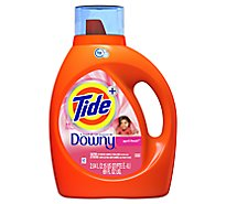 Tide Plus Laundry Detergent Liquid With Downy April Fresh - 69 Fl. Oz.