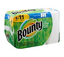 Bounty Paper Towels Select A Size Super Rolls White - 6 Roll