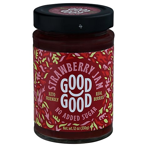 Good Good Jam With Stevia Strwberry - 12 Oz