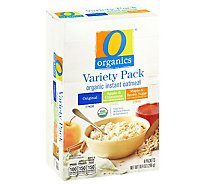 O Organics Oatmeal Instant Variety Pack - 10.4 Oz