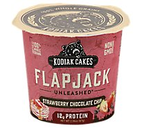 Strawberry Dark Chocolate Flapjack In A Cup - 2.36 Oz