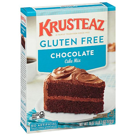 Krusteaz Gluten Free Chocolate Cake Mix - 18 Oz