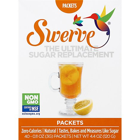 Swerve Sweetener Packets - 40-0.11 Oz