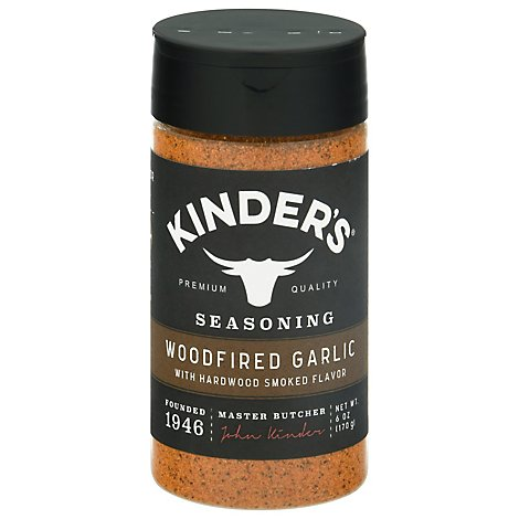 Kinders Rub Woodfired Garlic - 6 Oz