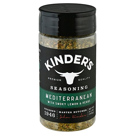 Kinders Seasoning Mediterranean - 5.6 Oz
