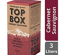 Top Box Wine Cabernet Sauvignon - 3 Liter