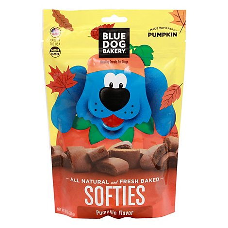 Blue Dog Bakery Pumpkin Softies - 10 Oz