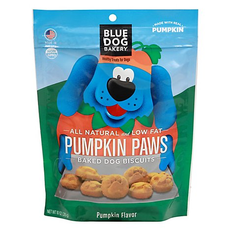 Blue Dog Bakery Pumpkin Paws - 10 Oz