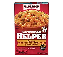 Hamburger Helper Pasta & Cheesy Sauce Mix Double Cheeseburger Macaroni - 6 Oz