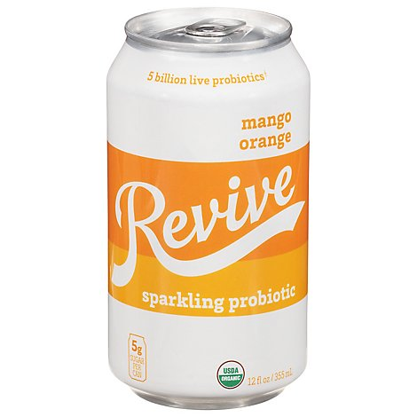 Revive Kombucha Mango Orange