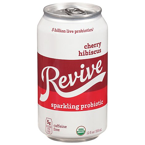 Revive Kombucha Cherry Hibiscus