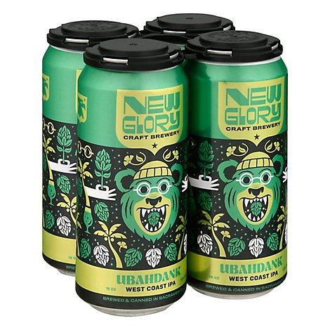 New Glory Ubahdank Ipa In Cans