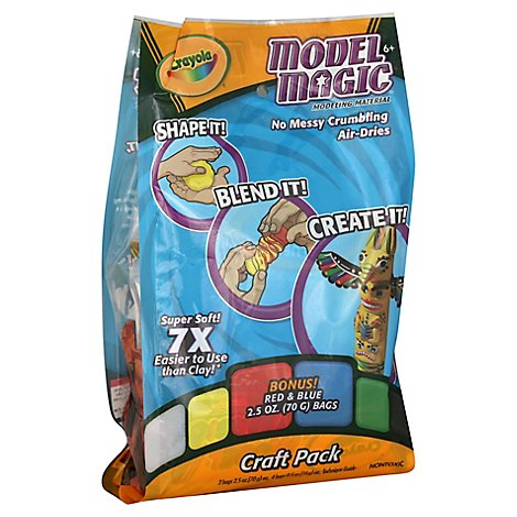 Crayola Model Magic Modelling Material Craft Pack - Each