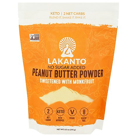 Lakanto Powder Peanut Butter - 8.5 Oz