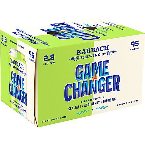 Karbach Game Changer In Cans - 6-12 Fl. Oz.