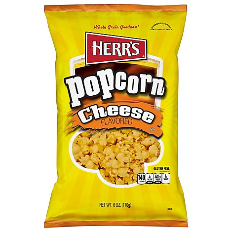 Herrs Popcorn Cheese - 6 Oz