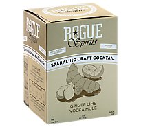Rogue Rtd Ginger Lime Vodka Mule Can - 4-12 Fl. Oz.