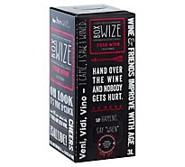 Box Wize Rose Wine - 3 Liter