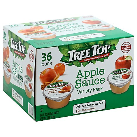 Tree Top Apple Sauce Variety Pack - 36-4 Oz