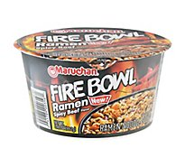 Maruchan Bowl Flaming Beef - 3.49 Oz
