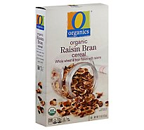 O Organics Cereal Raisin Bran - 11 Oz