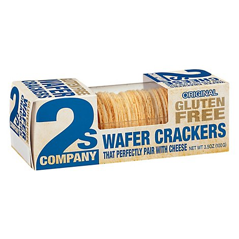 2s Company Cracker Wafer Gluten Free Original - 3.5 Oz