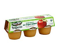 Tree Top Apple Sauce Organic No Sugar Added - 6-4 Oz