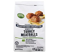Open Nature Meatballs Turkey - 14 Oz
