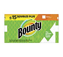Bounty Paper Towel Full Huge Rolls 2 Ply Sheets White - 6 Roll