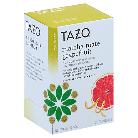 TAZO Green Tea Matcha Mate Grapefruit - 20 Count